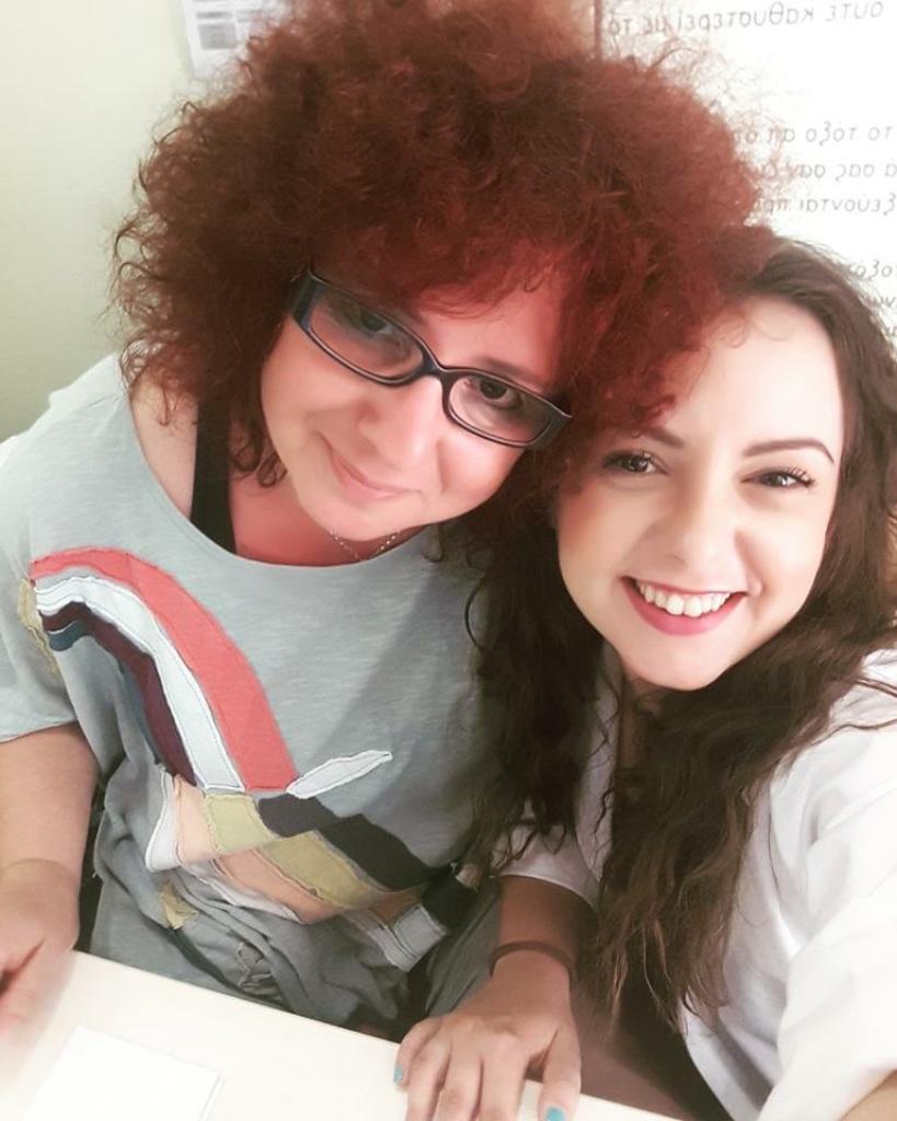 Nancy with Eirini